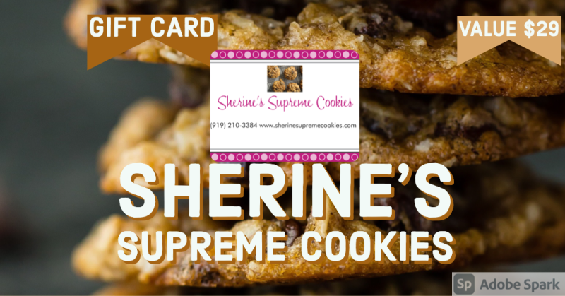 Sherine Supreme Cookies Gift Cards