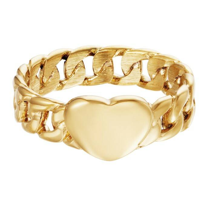 Ring Chained Heart