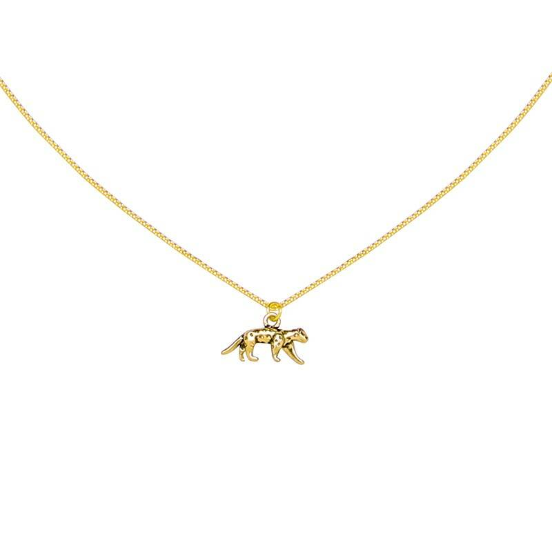 Ketting Lucky Leopard