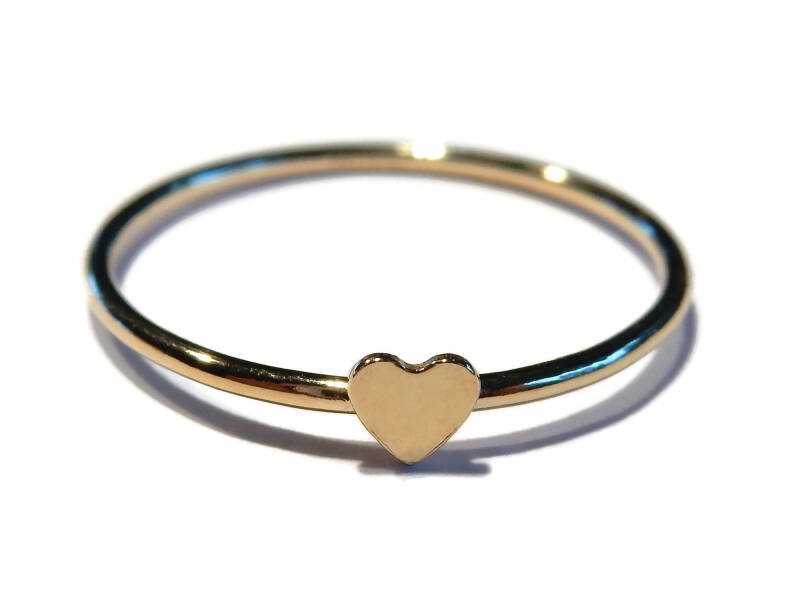 stackring 1 mm heart RSG8