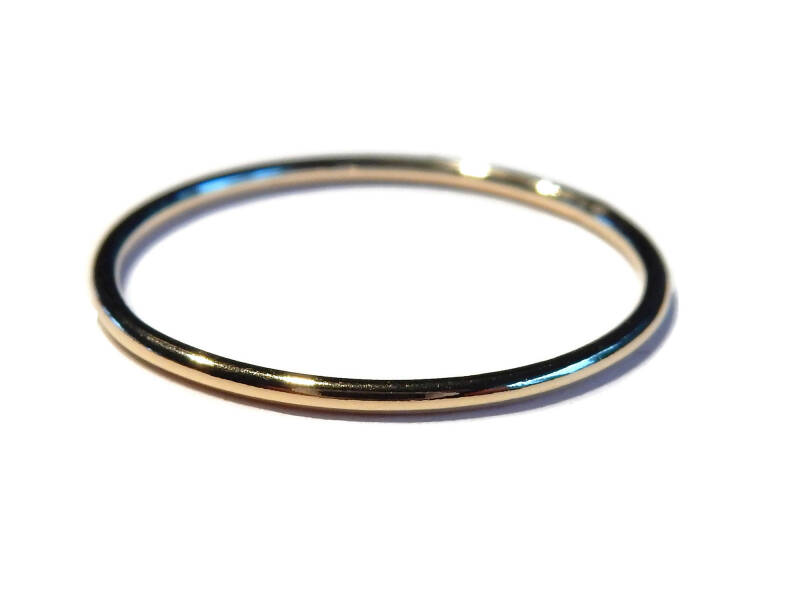 stackring 1 mm smooth RSG1