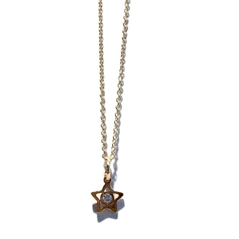 necklace star N1146