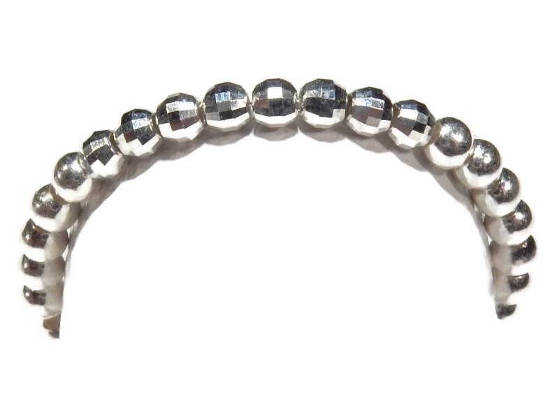 flexring 2 mm silver with shiny accents RF568