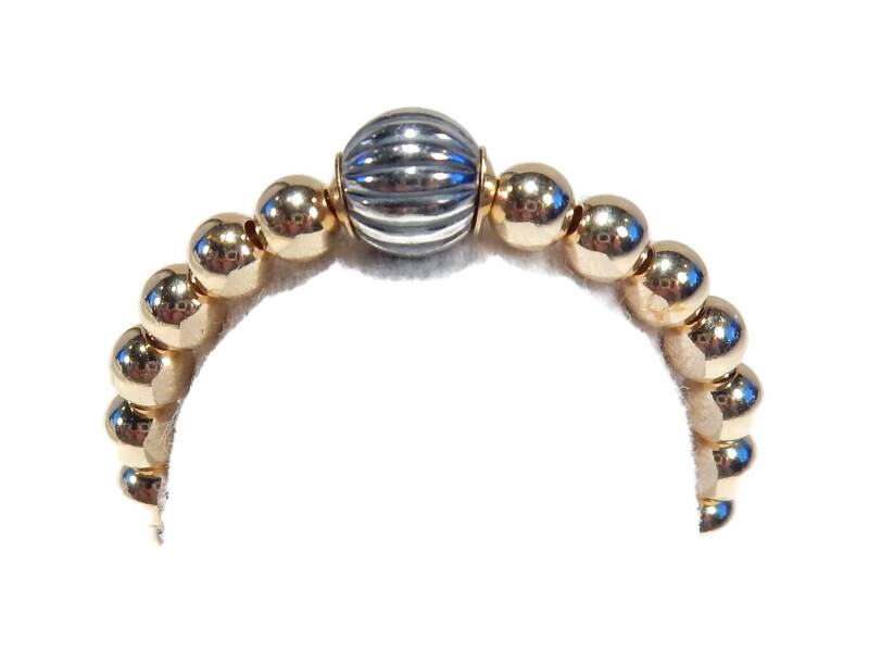 flexring 3 mm with oxidized silver ball RF1444