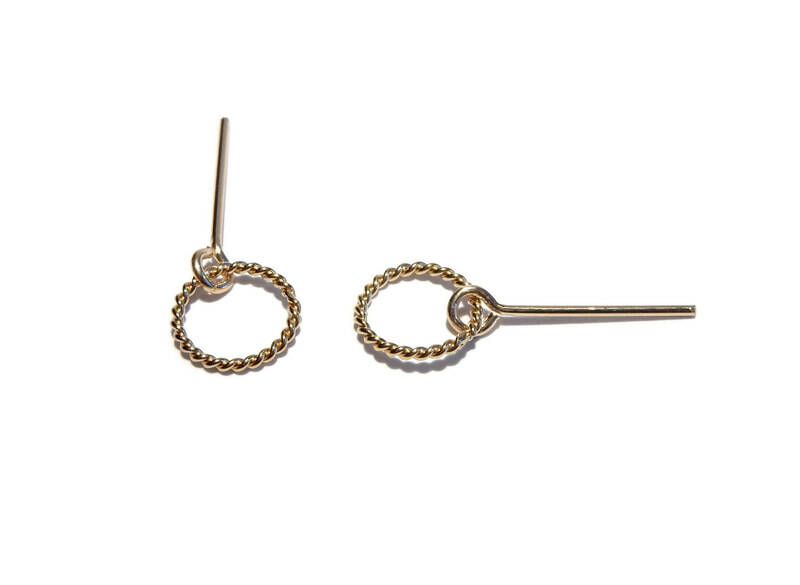 studs Twist twisted ring ST636