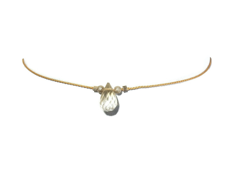 adjustable bracelet citrine BAS1306