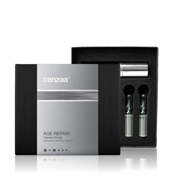 CENZAA - SKIN BOOST AMPOULE THERAPY - INTENSE FIRMING