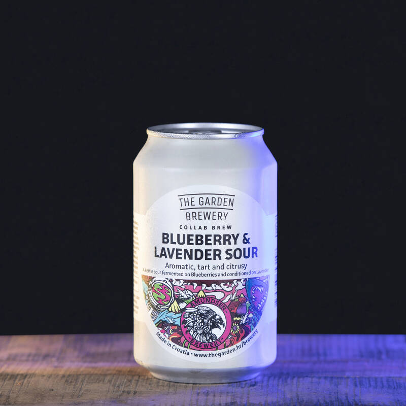 The Garden Brewery - Blueberry & Lavender Sour