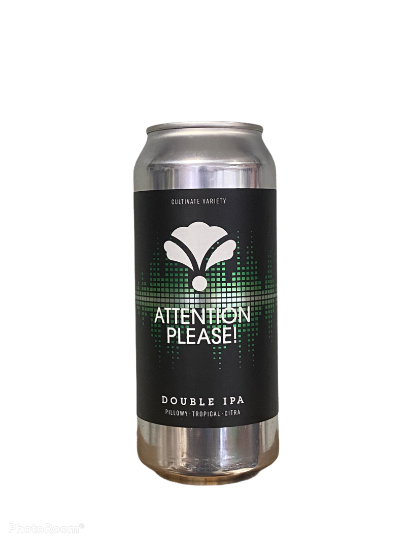 Bearded Iris Brewing -  Attention Please