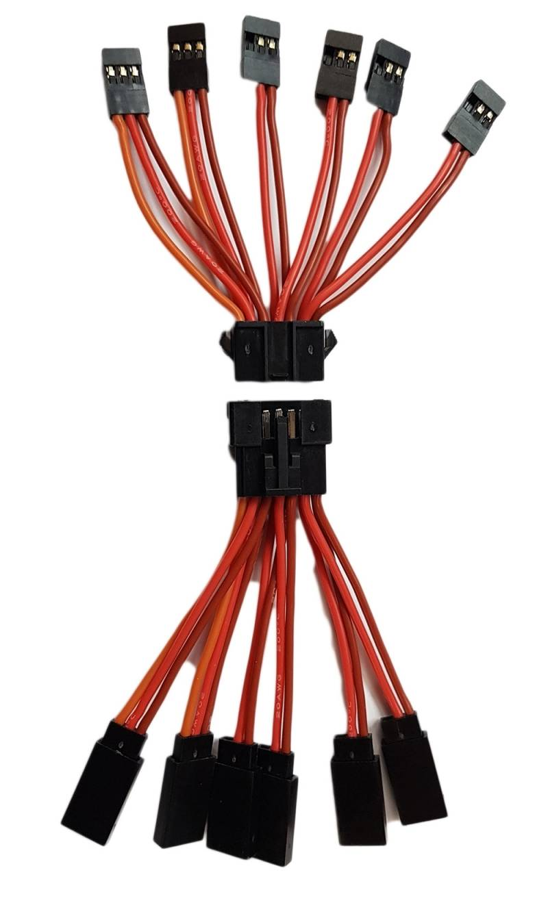Wing connector 20 AWG  Gear/Brakes/Lights all in one!