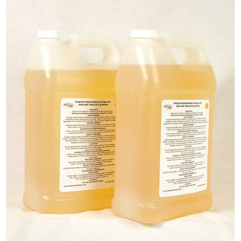 Turbine Oil for Kingtech engines 1 Liter NONE TOXIC