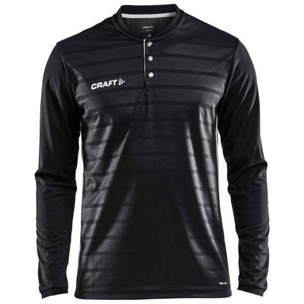 Craft Jersey Pro Control Button LS Jr,