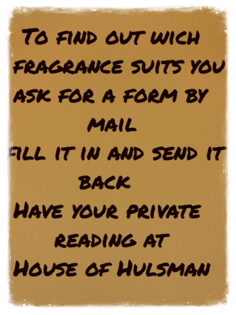 Fragrance Reading 30 minutes