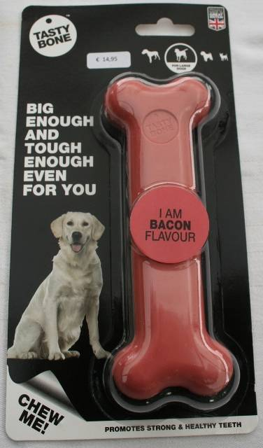 Nylon bone Large Bacon