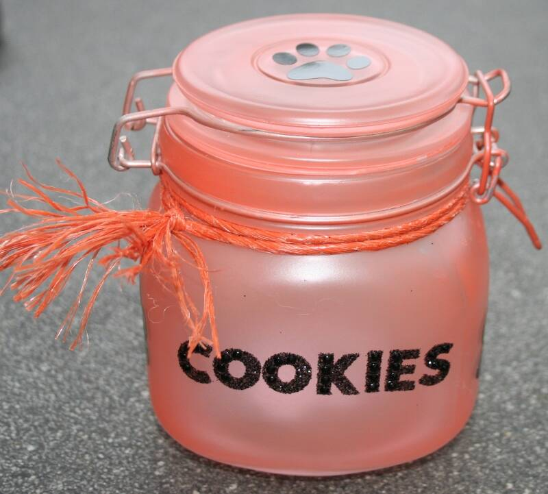 Oranje frosted pot Cookies