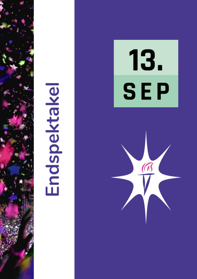Ticket Eindspektakel zondag 13 september