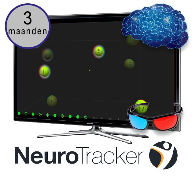 NTX NeuroTracker Brain Training (3 maanden)