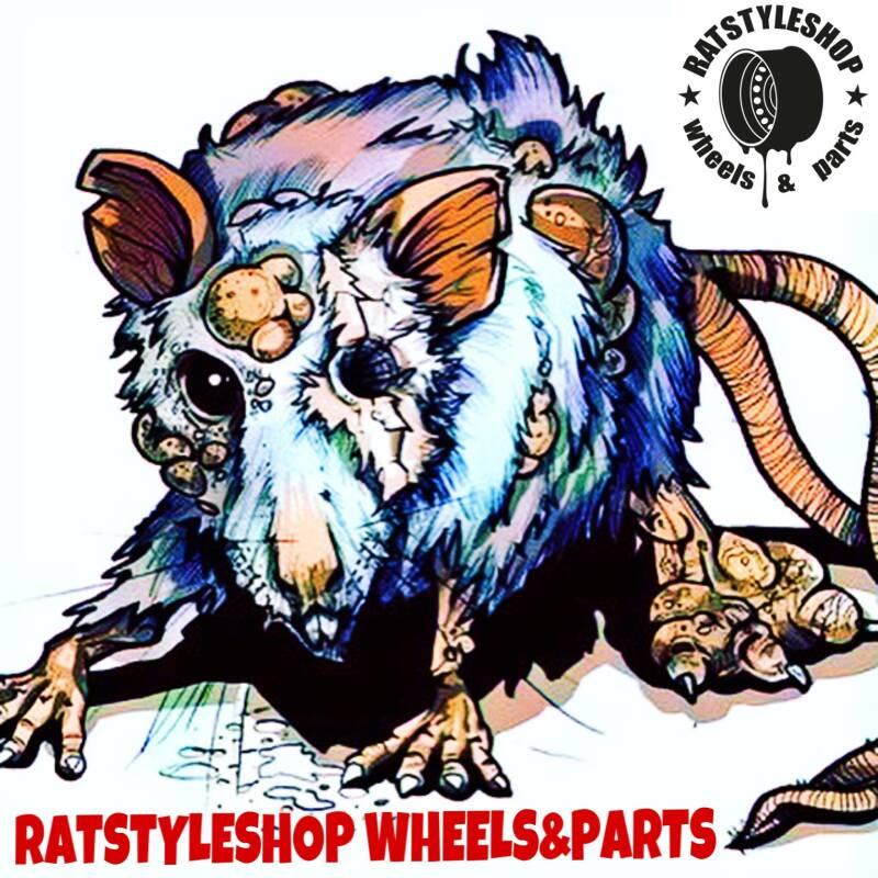 Rat company sticker 10x10 uv besteding