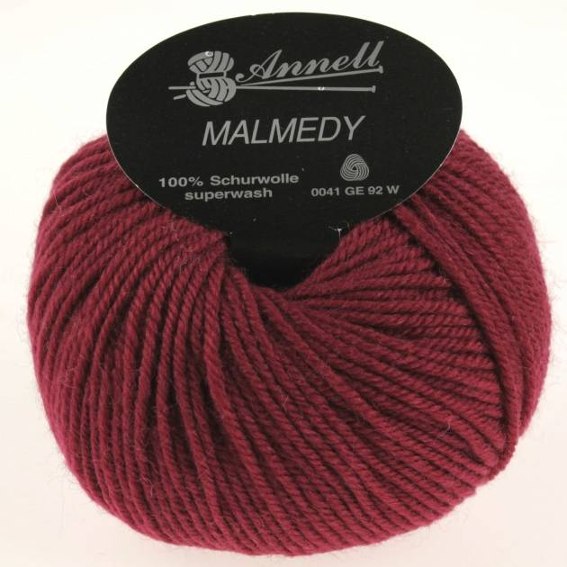 Annell Malmedy 2510 donkerrood
