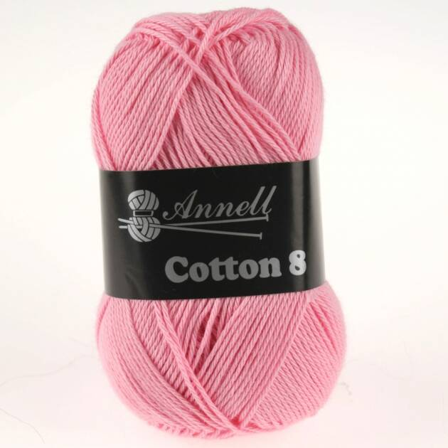 Annell Coton 8 kleur 32 baby rose