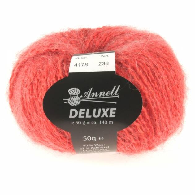 Annell De Luxe 4178 rood rose
