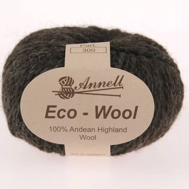 Annell Eco-Wool 501 naturel donker