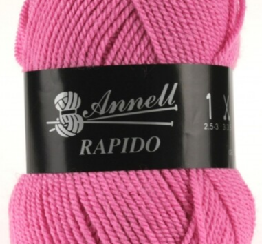 Annell Rapido 3277 felrose