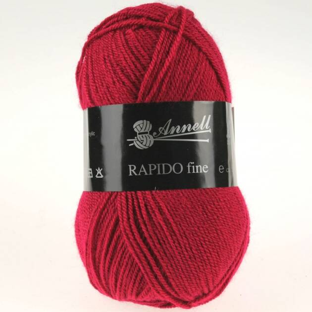 Annell Rapido Fine 8213 kersenrood