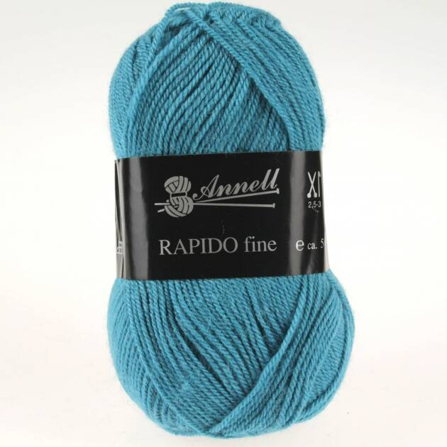 Annell Rapido Fine 8262 turquoise