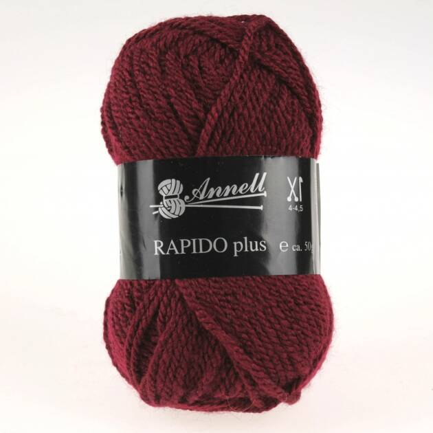 Annell Rapido Plus 9210 donkerrood