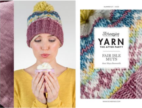 After the party - Fair Isle Hat