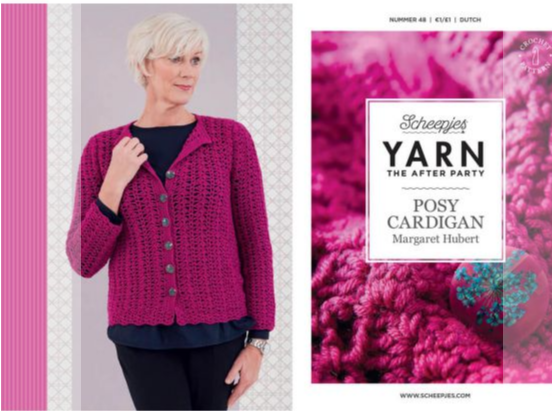 After the party - Posy Cardigan