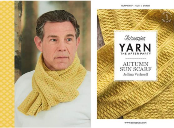 After the party - Autumn Sun Scarf