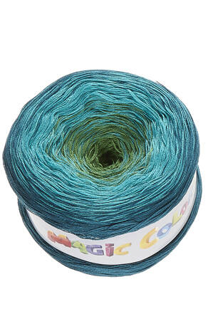 Lammy Magic Colors 611 aqua-appelgroen-turquoise
