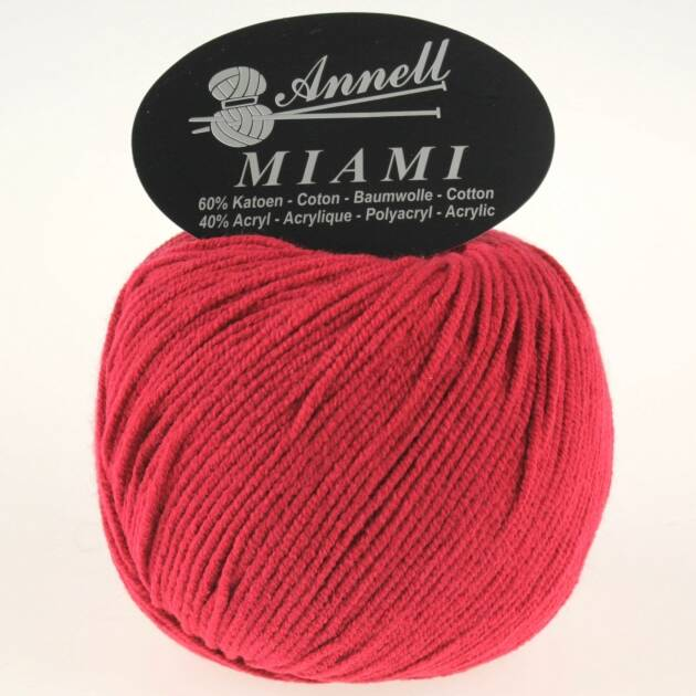 Annell Miami 8913 mat rood