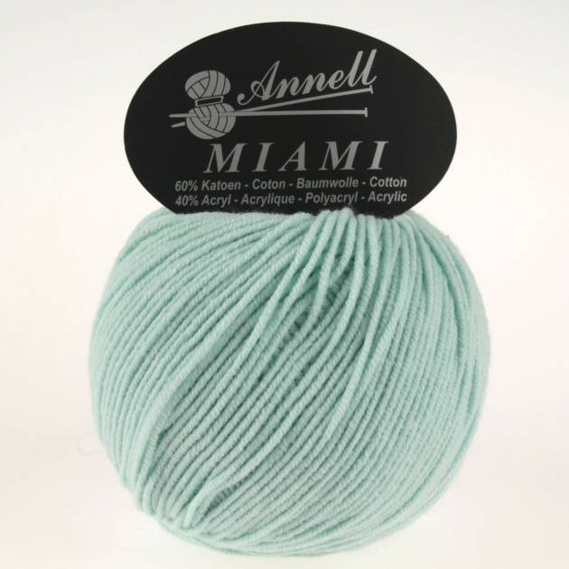 Annell Miami 8922 mint groen