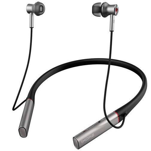 1MORE Dual Driver In-Ear Headphones Bluetooth ANC Grey