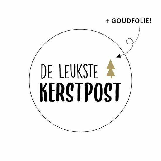 Sticker Kerstpost, per 20