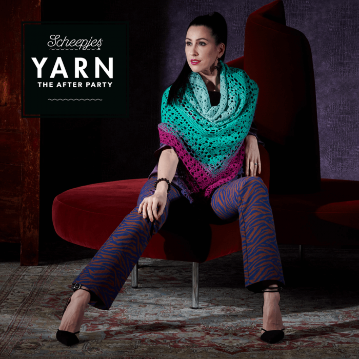 "Yarn, the after party ""Valyria Shawl"""