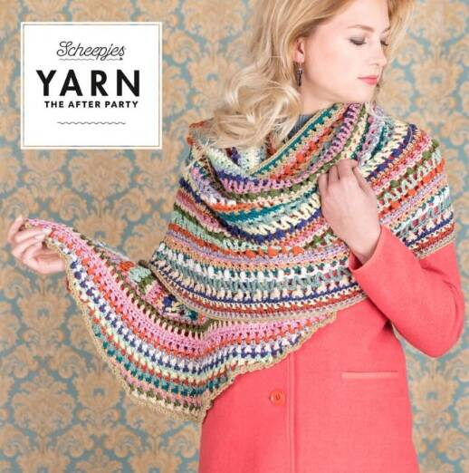 "Yarn, the after party ""Wrapket scarf"""