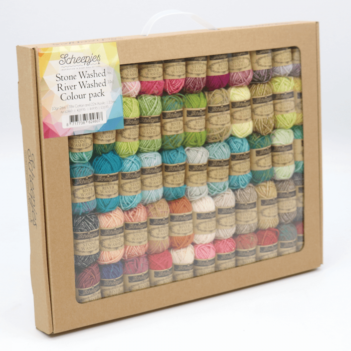 Scheepjes Stone Washed/River Washed colour pack