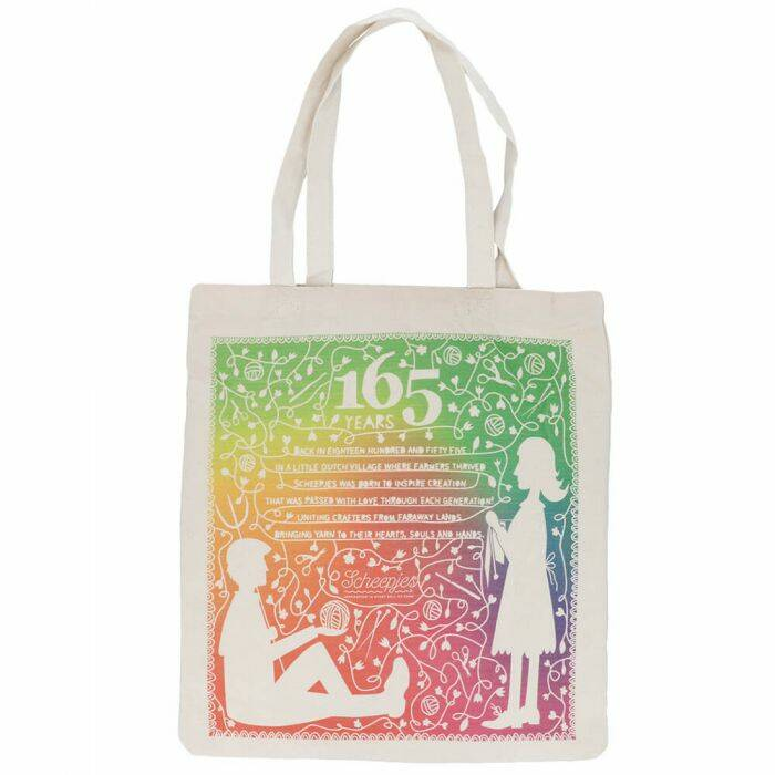 Canvas tas, limited edition 165 jaar