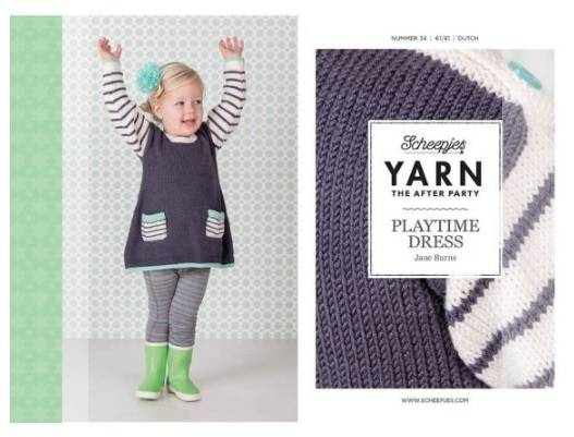"""Yarn, the after party """"playtime dress"""""""