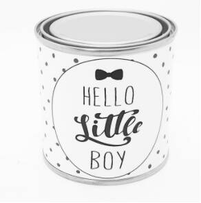 "Cadeaublik ""Hello little boy"""