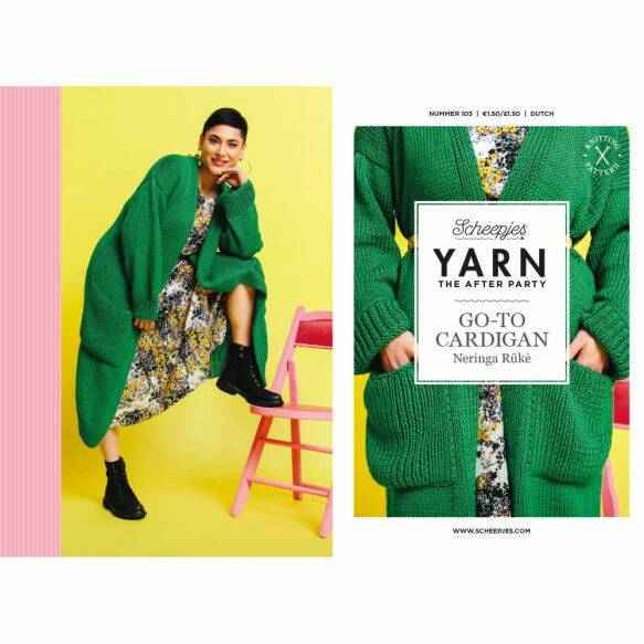 "Yarn, the after party ""Go-to-Cardigan"""
