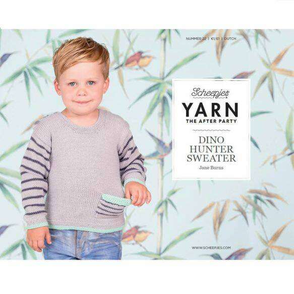 """Yarn, the after party """"Dino hunter sweater"""""""