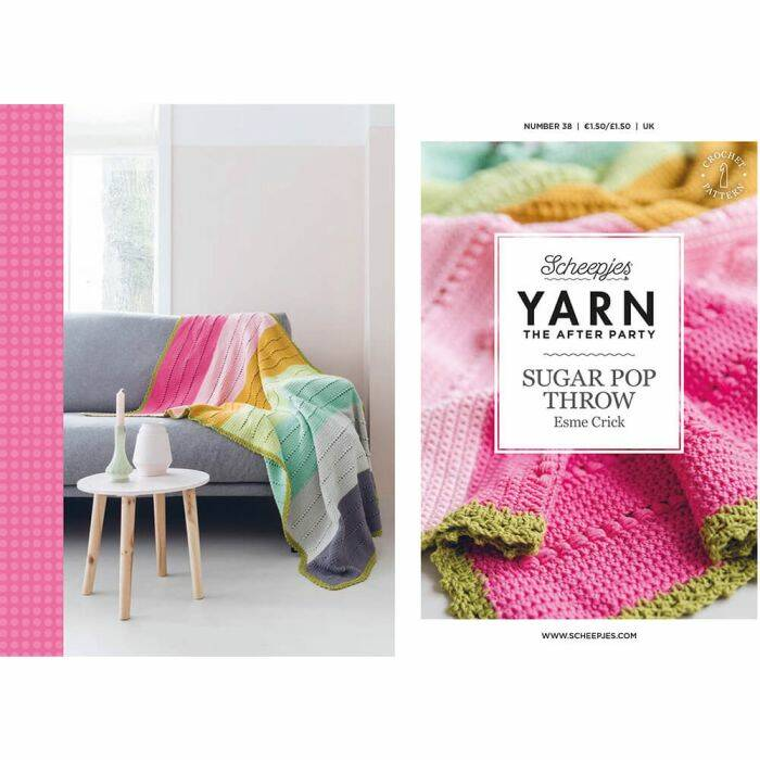 """Yarn, the after party """"Sugar Pop throw"""""""