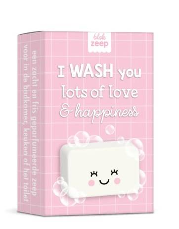 I WASH you lots of love, van Studio Schatkist