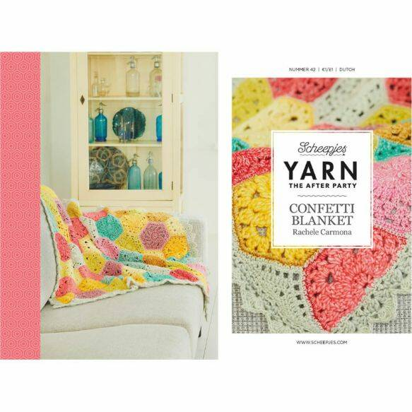 "Yarn, the after party ""Confetti blanket"""