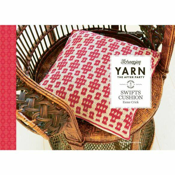 Yarn, the after party ' Swifts cushion'